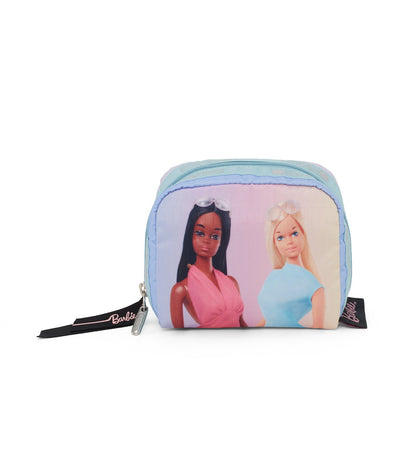 barbie x lesportsac square cosmetic making waves