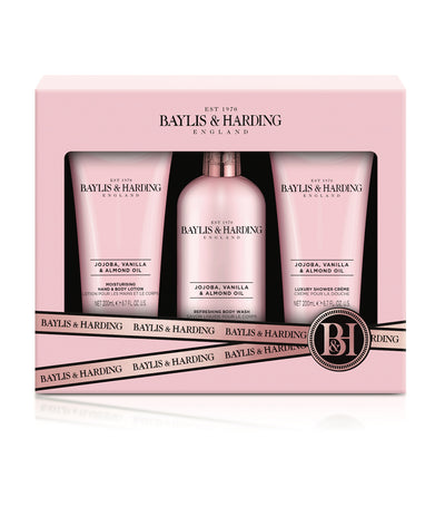 Baylis & Harding Jojoba, Vanilla & Almond Oil Luxury Bathing Essentials Gift