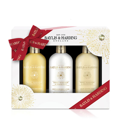Baylis & Harding Sweet Mandarin & Grapefruit Trio Bottle Set