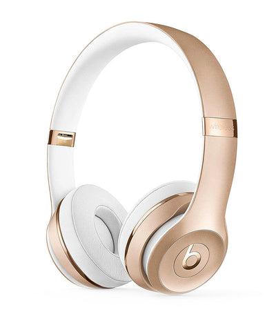 beats by dr. dre apple beats solo3 wireless headphones gold