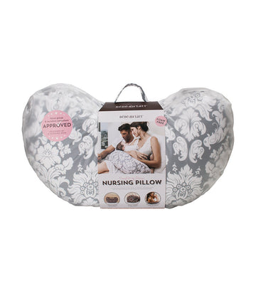 bebe au lait nursing pillow chateau silver
