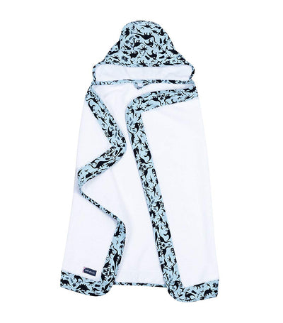 bebe au lait hooded towel boy dinomite