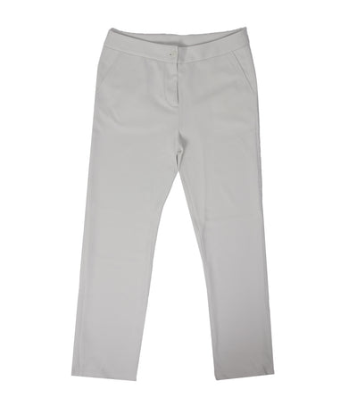 jill by jojie lloren spinach slim pants off-white