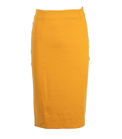 oleg cassini woman sofia skirt yellow