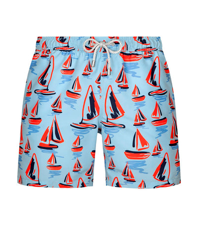 bluemint arthus blue sailor swim shorts