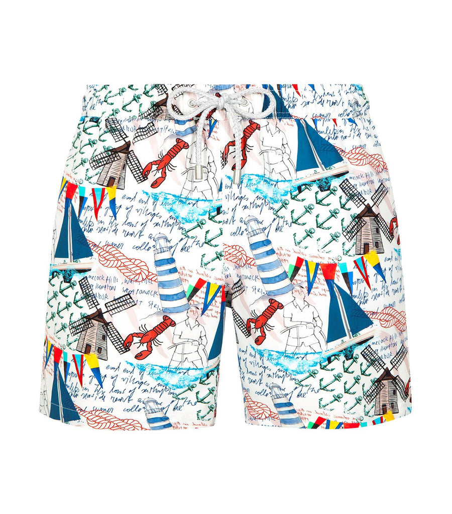 bluemint arthus nautique swim shorts