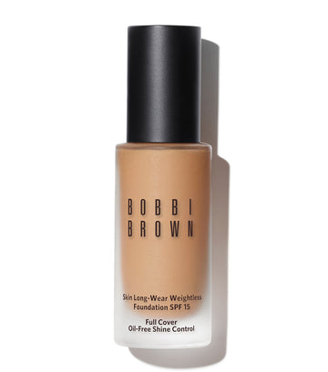 bobbi brown warm sand skin long-wear weightless foundation spf 15