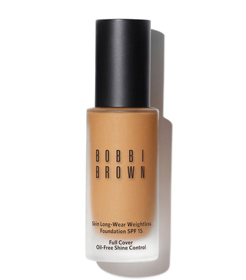 bobbi brown warm beige skin long-wear weightless foundation spf 15
