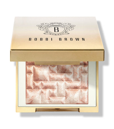 bobbi brown mini highlighting powder pink glow