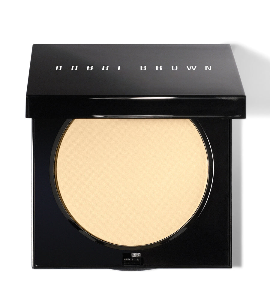 bobbi brown pale yellow sheer finish pressed powder