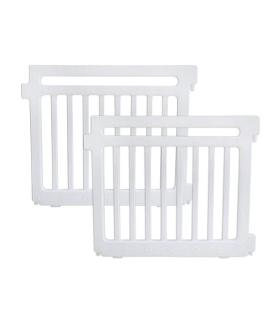 bonjour baby white playpen extension panels set of 2