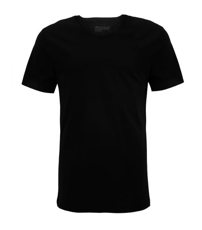 bread & boxers black crew-neck t-shirt