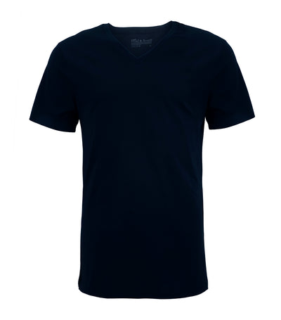 bread & boxers v-neck navy t-shirt
