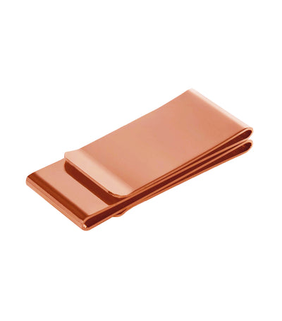 brouk & co. the minimal man money clip copper