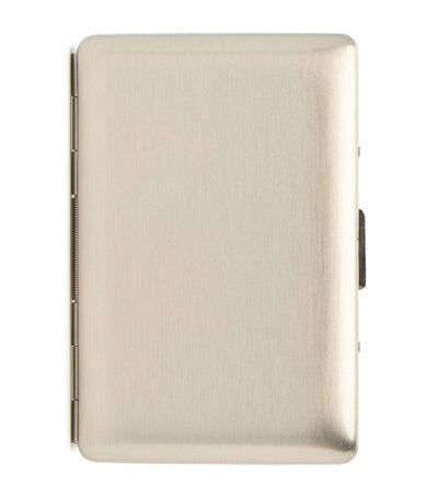 brouk & co. the 6 card holder matte silver