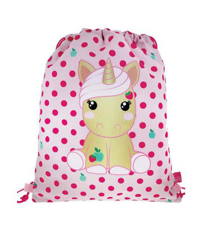 candy cloud jazzy drawstring bag