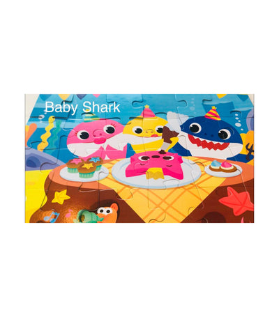 cardinal games baby shark floor puzzle
