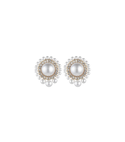 carolee cindy graduated pearl small stud earrings