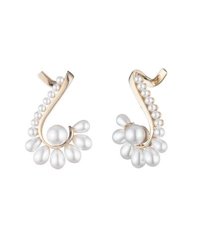 carolee cindy fan ear cuff earrings