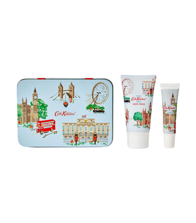 cath kidston london hand and lip tin
