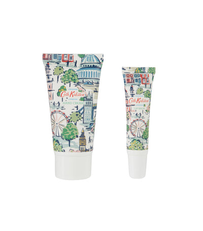 cath kidston mini london view hand and lip tin