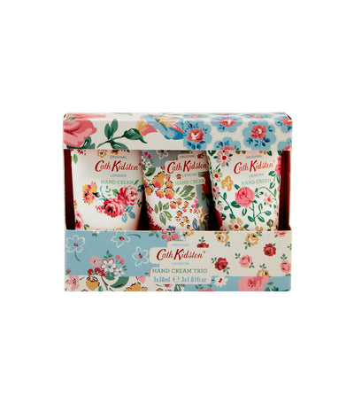 cath kidston cottage patchwork hand cream trio