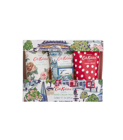 cath kidston mini london view hand cream trio
