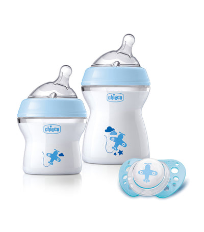chicco newborn gift set blue