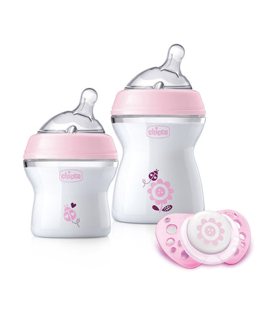 chicco newborn gift set pink