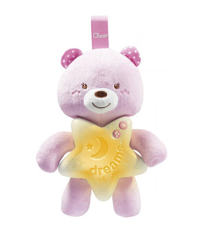 chicco pink goodnight bear