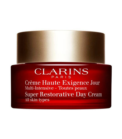 clarins super restorative day cream for all skin types