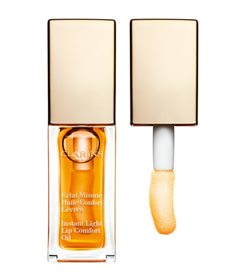 clarins 01 honey instant light lip comfort oil