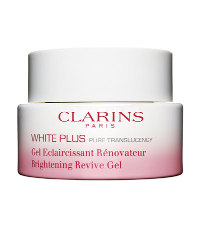 clarins white plus brightening revive night-mask gel