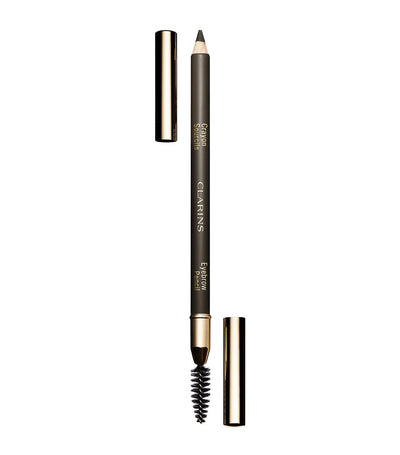 clarins dark brown eyebrow pencil