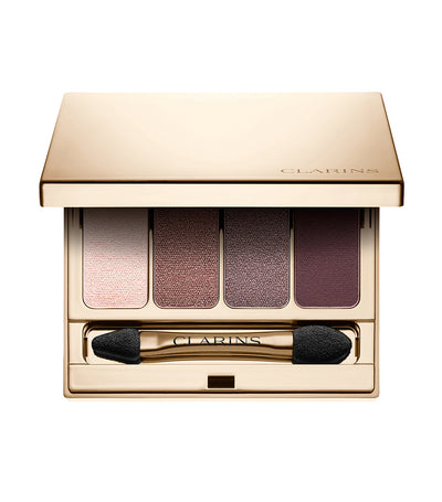 clarins rosewood 4-colour eyeshadow palette