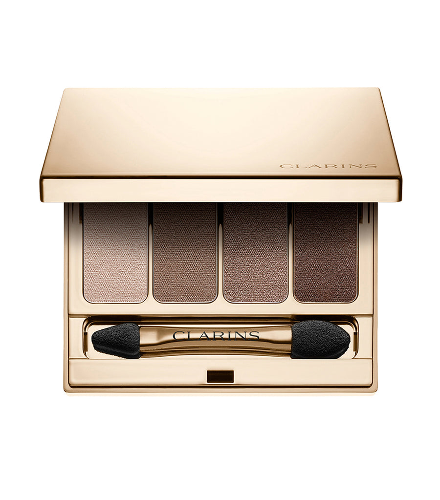 clarins brown 4-colour eyeshadow palette