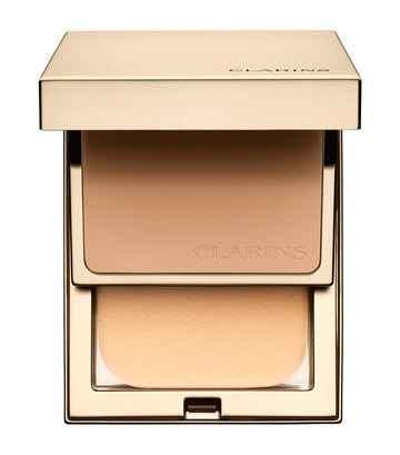 clarins 112 amber everlasting compact foundation spf 9