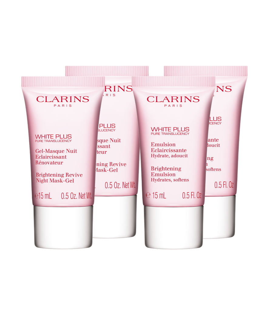 Clarins Free White Plus Bestseller Set