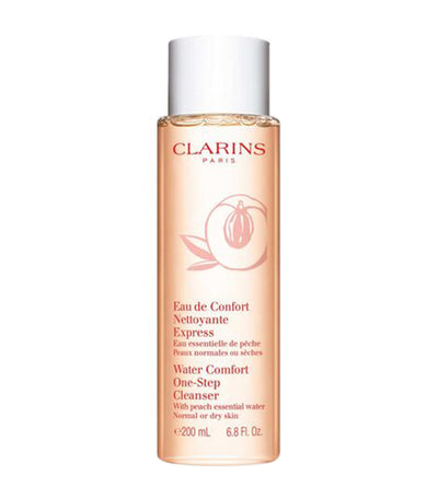 Clarins Water Comfort One-Step Cleanser with Peach Essential Water
