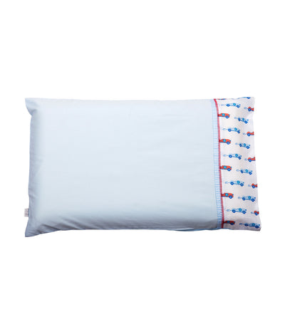 clevamama® blue toddler pillow case