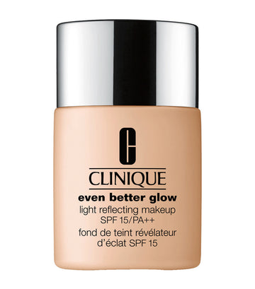 clinique porcelain rose even better glow light reflecting makeup broad spectrum spf 15
