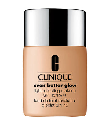 clinique warm sunny even better glow light reflecting makeup broad spectrum spf 15