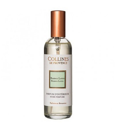collines de provence bamboo lotus room spray 100ml