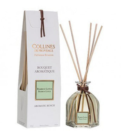 collines de provence aromatic bunch butterfly bamboo lotus 100ml