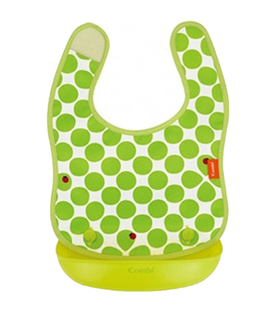 combi green baby label easy clean handy apron