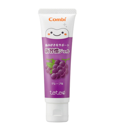 combi teteo gel toothpaste - grape