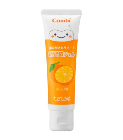 combi teteo gel toothpaste - orange