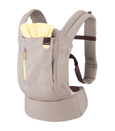 combi gray join baby carrier