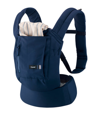 combi navy join baby carrier
