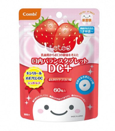 combi teteo oral balance tablet dc+ - strawberry milkshake